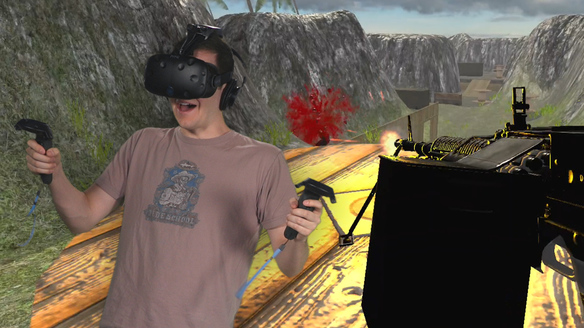 We Try Bullets and More VR