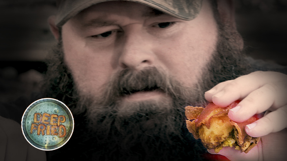 Alabama Boss Fries Up Some Bacon-Wrapped Deviled Eggs | Deep Fried