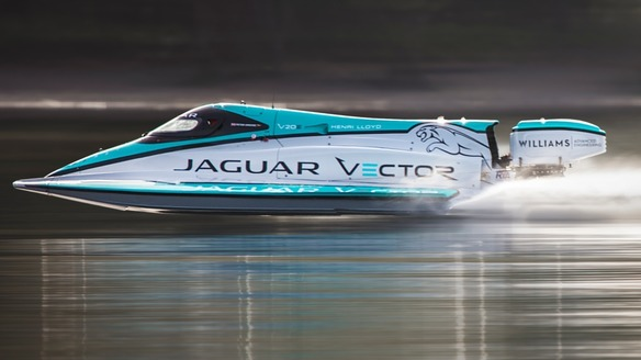 Jaguar Vector Racing V20E Breaks World Electric Speed Record
