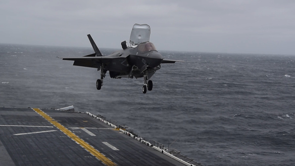 F-35B Makes Its First Combat Deployment to Middle East, Western Pacific