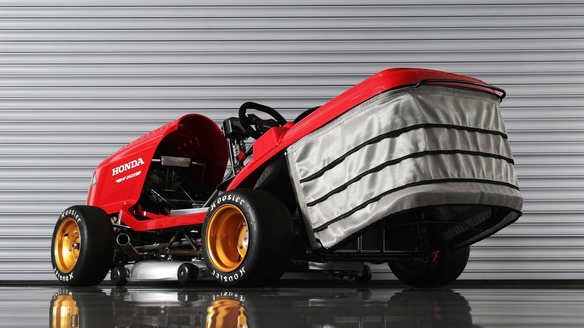 Honda's Mean Mower V2 Looks to Break 150-MPH Barrier