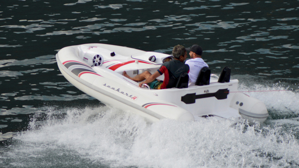Seakart 335 Combines the Thrill of a Jet Ski, Comfort of a Boat