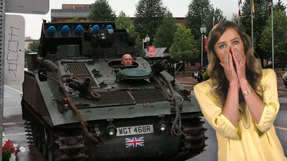 This Man Wants to Sell You His Tank for $36,000