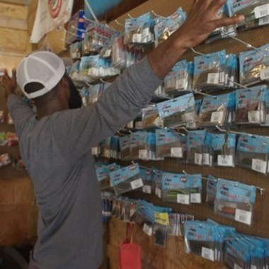 """Brian Latimer's Fishing """"Lab"""" Is Like Having Bass Pro Shops in Your Garage"""