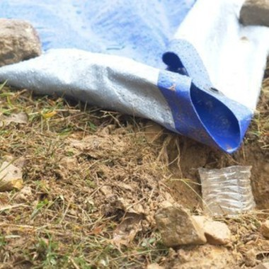 How to Make a Ground Tarp Water Collection System