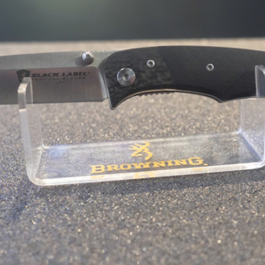 We Check Out Browning's New Black Label Tactical Blades at Shot Show 2018