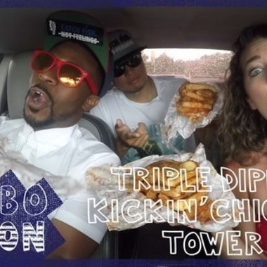 COMBOnation: We Try Zaxby's Triple Dippin' Kickin' Chicken Tower