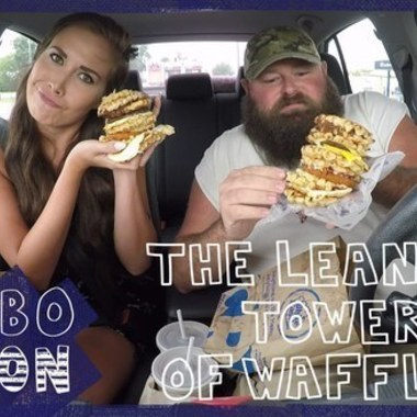 COMBOnation: We Try White Castle's Leaning Tower of Waffles