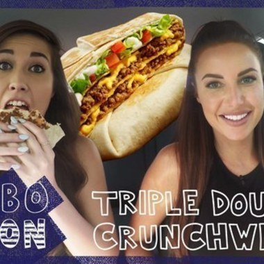 COMBOnation: We Try Taco Bell's Triple Double Crunch Wrap
