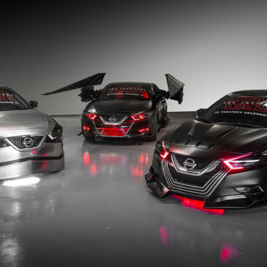 "Mod Madness: 2018 Nissan ""Star Wars: The Last Jedi"" Concepts"