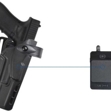 Safariland's Completely Wireless Police Holster and Body Camera System