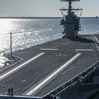 The Navy's $13 Billion Supercarrier Is Finally Ready for Sea Trials