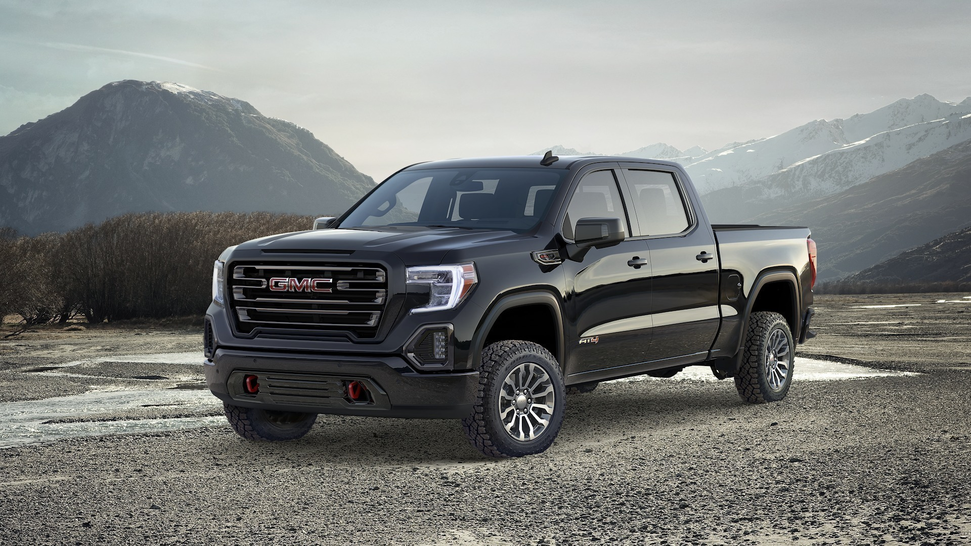 rated red  2019 gmc sierra at4