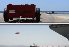 Watch The Navy Launch Trucks From A Carrier